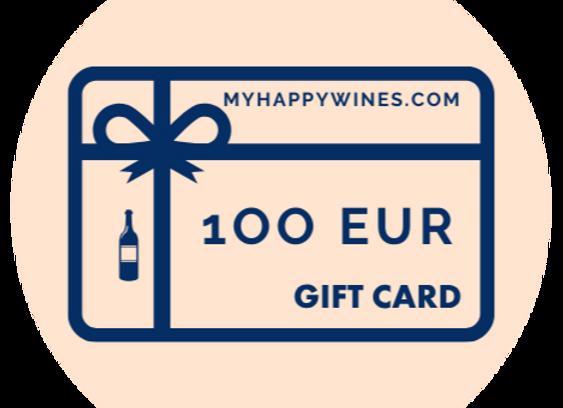 100 EUR Online-Geschenkkarte