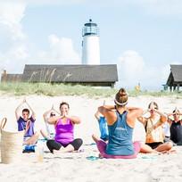 Beach Yoga 💜 Tuesday,Thursday and Satur