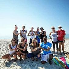 Beach Yoga! _islandfitsup #standupwithsa
