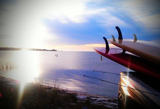 Facebook - Paddleboard fishing!