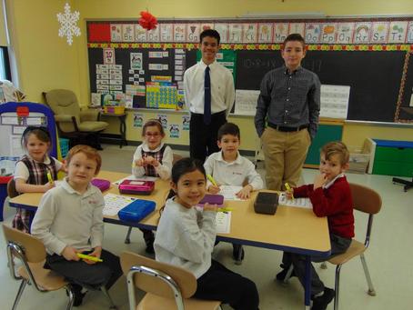 Spotlight On! Middle School's 2nd Trimester