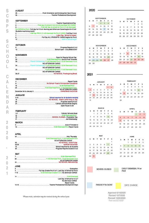 2020-2021 SCBPS Calendar Revised 5_31_20