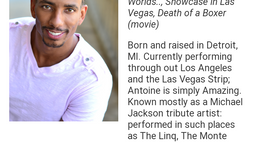 Multitalented: Actor, Comedian, Writer,       & Tribute Artist!