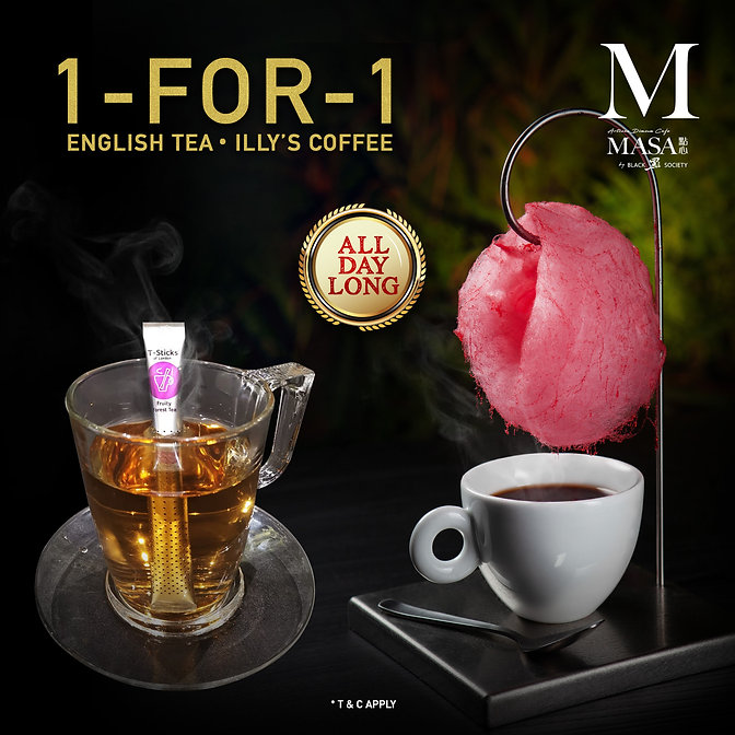 1 for 1 english tea & illy's coffee.jpg