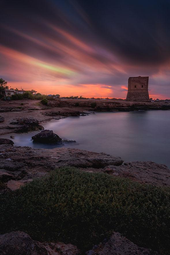 Beautiful Sunset in Sicily