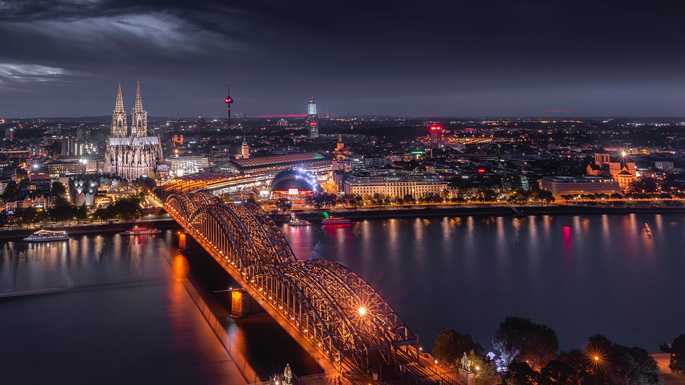 Cologne Panorama view