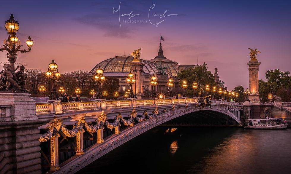 The Pont Alexandre III (Paris, France)