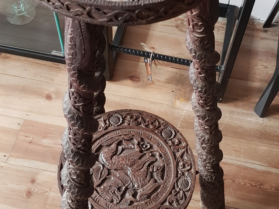Victorian Anglo Indian Plant Stand