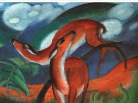 Franz Marc- Red Deer 2