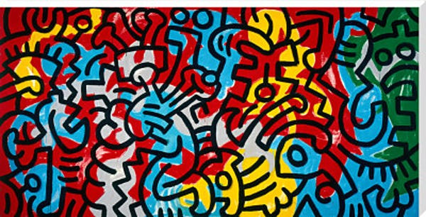 Keith Haring- Untitled 1985