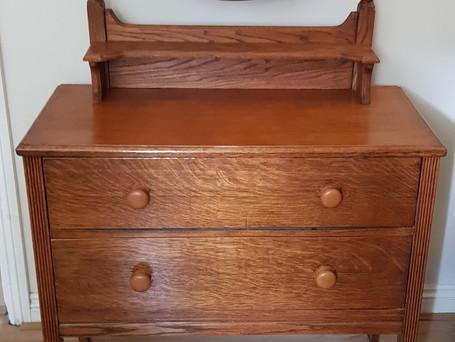 Handmade Oak Dressing Table
