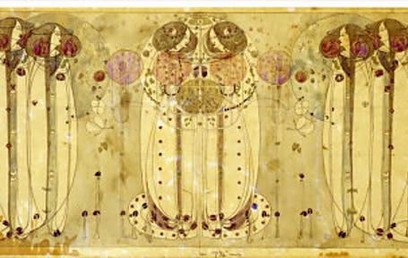 Charles Rennie Mackintosh-The Wassail