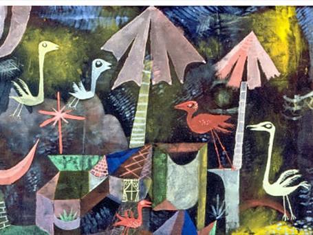Paul Klee- Vogelkomodie 1919
