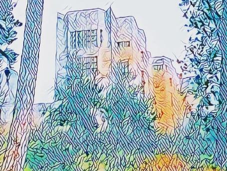 Framed A4 Mixed Media Art