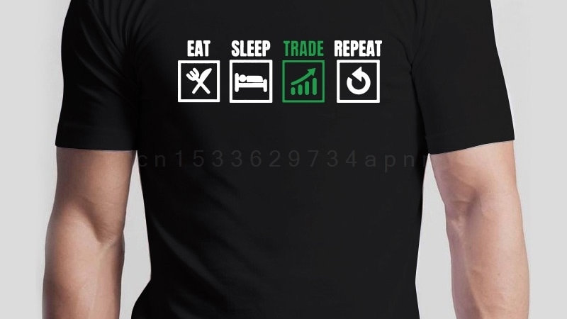 Eat Sleep Trade Repeat Stock Market Tee Tshirt