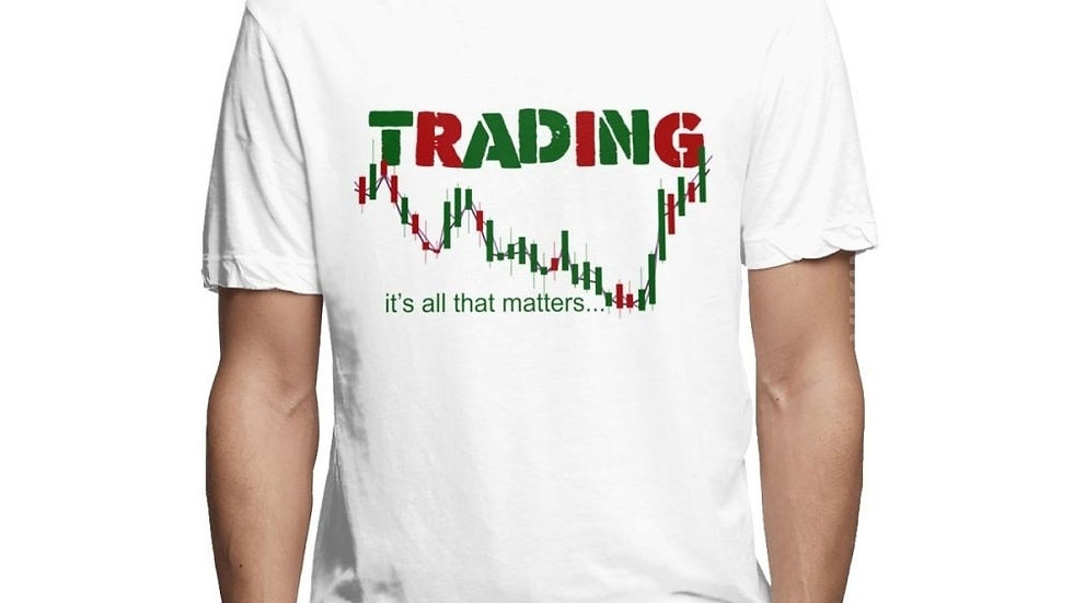 Men's O-Neck Share Stock Trading Tee Shirt Investment T Shirt