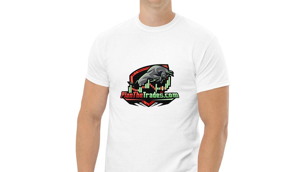 PlanTheTrades Men's heavyweight tee shirt