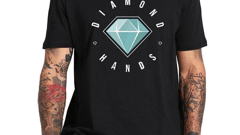 Diamond Hands Stock Market Tee Shirt HODL HOLD Stock Invest Profit
