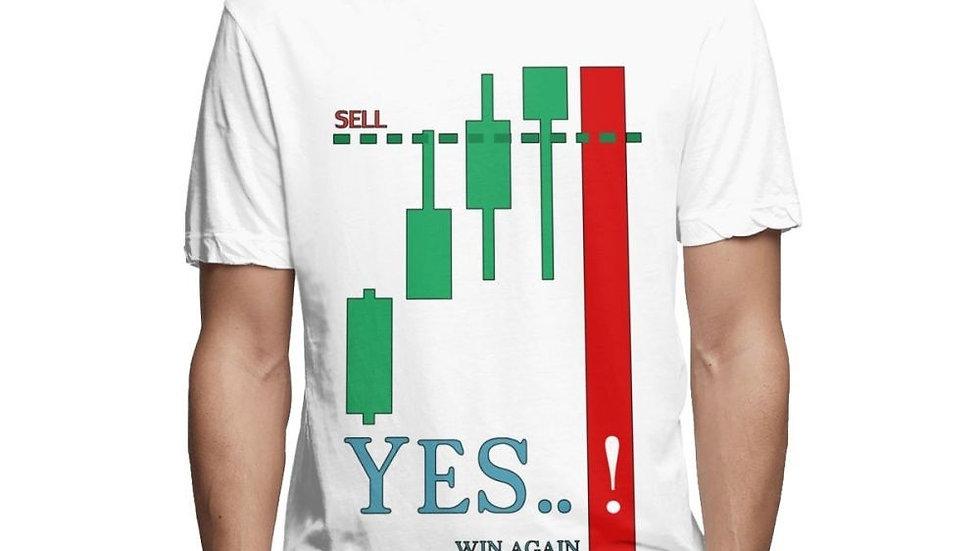 Daytrader Stock Market Teeshirt Short Sleeve Tee