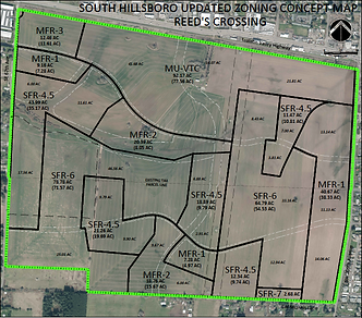 reeds crossing zoning map