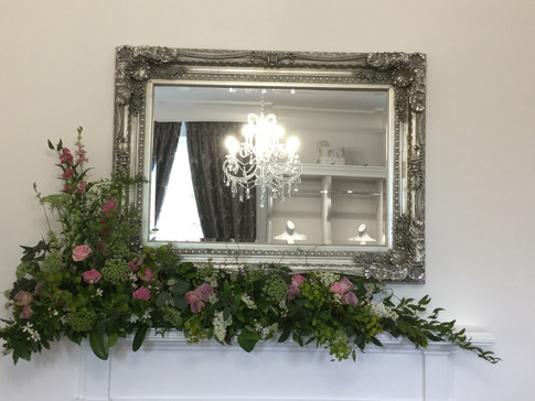 Country mantle piece