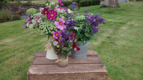 Garden Flowers for a DIY wedding