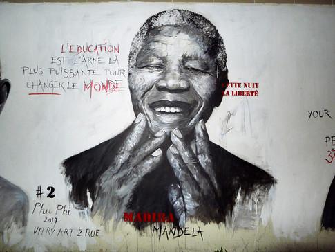 MURAL #2 - Nelson Mandela