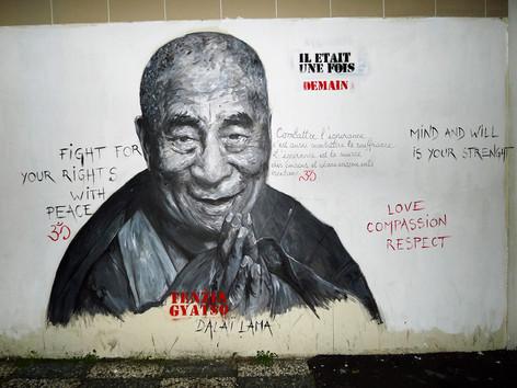 MURAL #2 - Dalaï Lama