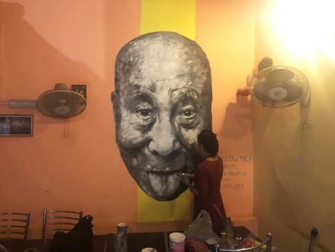 MURAL #5 - Dalai Lama