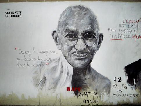 MURAL #2 - Mahatma Gandhi