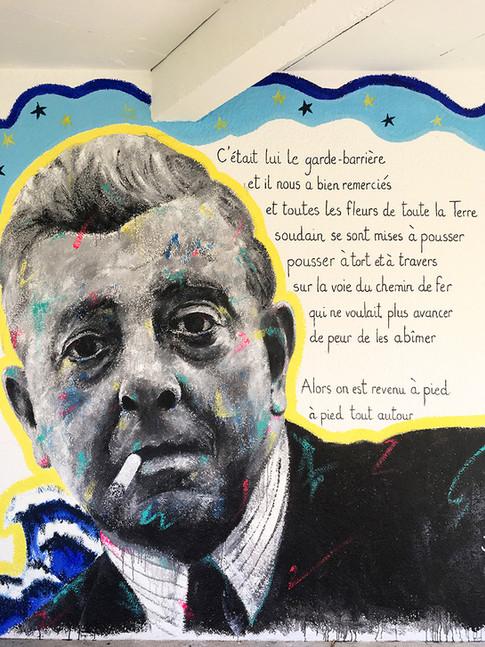 MURAL #8 - Jacques Prévert