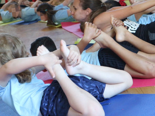 Bringing Yoga to Malvern Way Infant and Nursery School