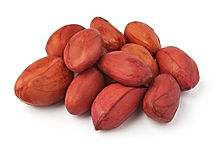 Unshelled peanuts, Senegal, West Africa