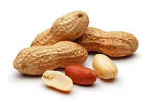 In-shell peanuts, Senegal, West Africa