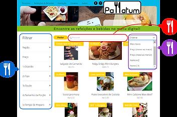Pallatum | A Rede Social Gastronômica - Atualizar Cadastro de Usuário - Timeline Preview