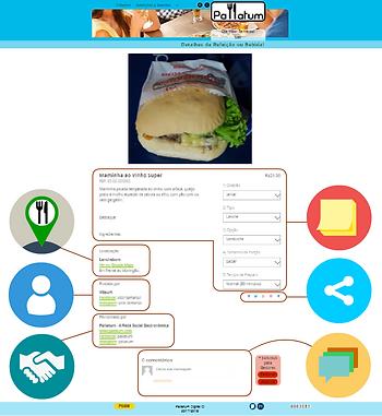 Pallatum | A Rede Social Gastronômica - Detalhes do Post