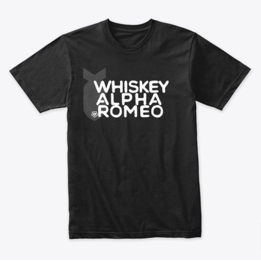 whiskey-alpha-romeo-tshirt