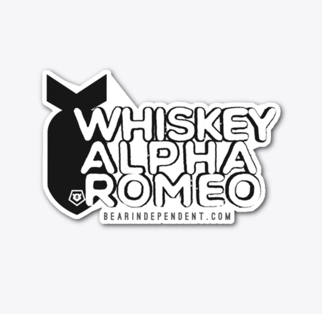 Whiskey-Alpha-Romeo-Sticker