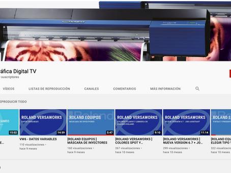 Ahora Gráfica Digital en Youtube!