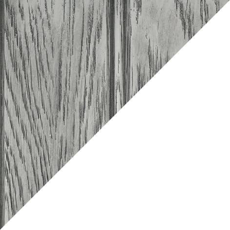 Platinum Oak/White
