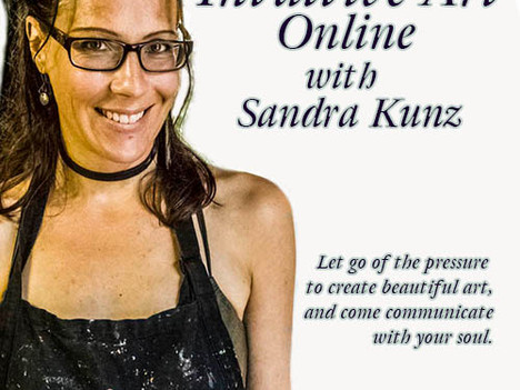 Nov 3rd ONLINE Intuitive Art Workshop  with Sandra Kunz
