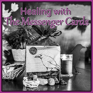 Healing with The Messenger Cards.jpg