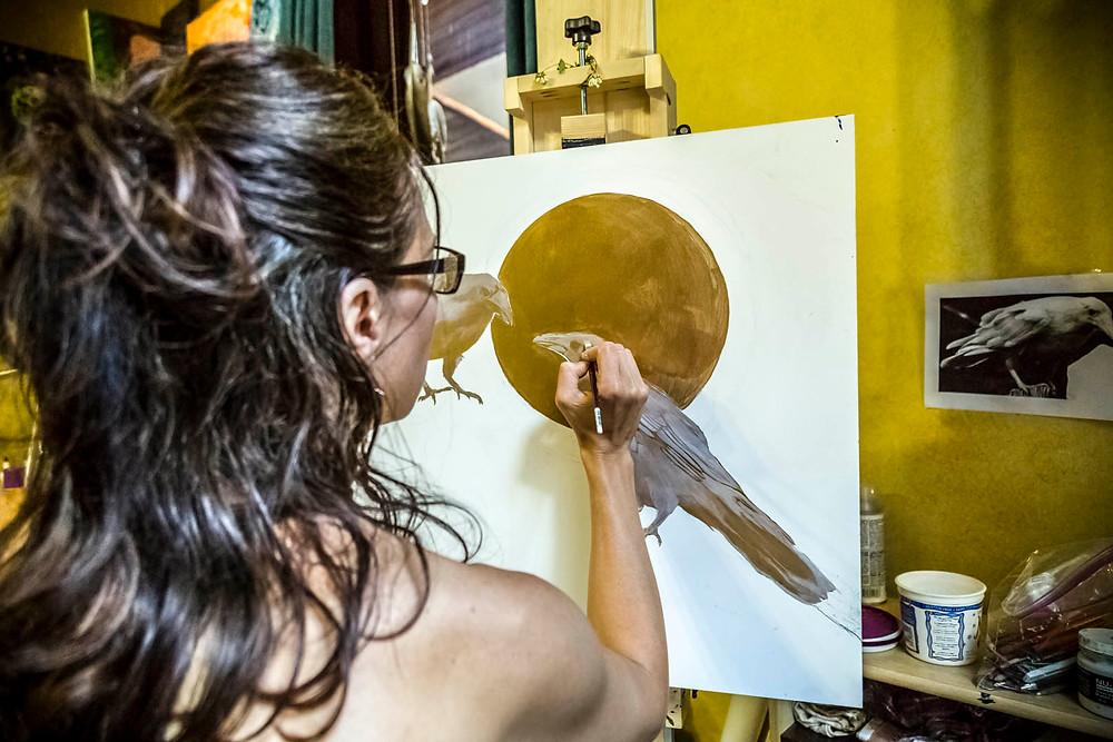 Sandra Kunz, Intuitive Artist