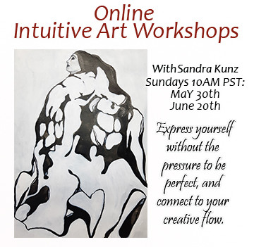 Intuitive Art Workshops May and June 2021