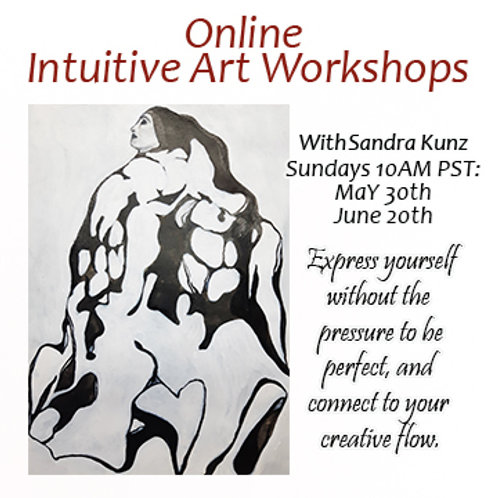 Online Intuitive Art Workshops for May and June 2021