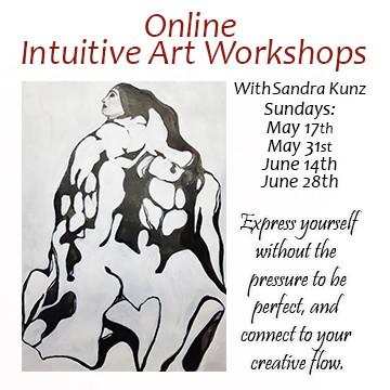 Online Intuitive Art Workshops