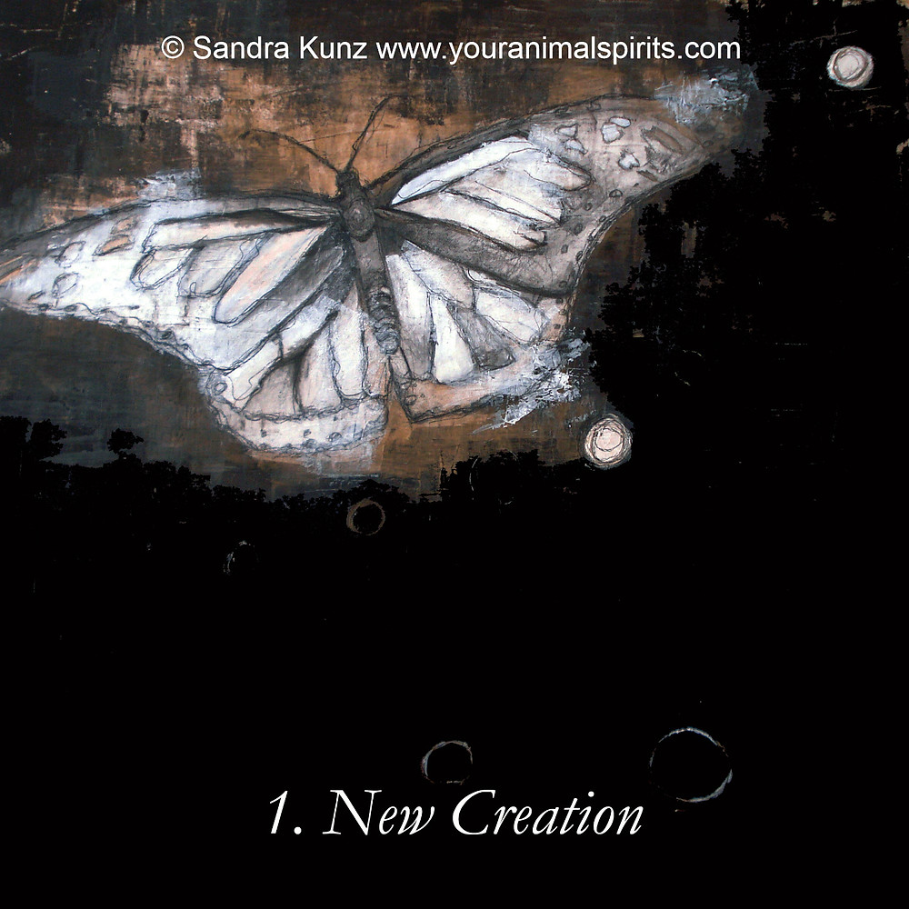 Butterfly Painting By Sandra Kunz StrokeOfSoul.com