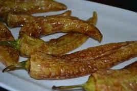 πιπεριες τηγανιτες λουτσα