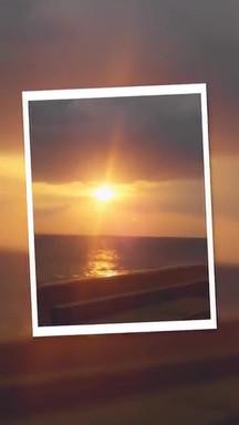 loutsa beach sunset