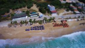 loutsa restaurant drone photo